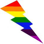 coloris colori color saetta con colori arcobaleno